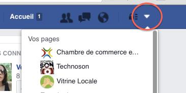Endroit où gérer ma page FB - Être Partout